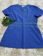 Landau Royal Blue Scrub Top - Women's Size Small - $9.89