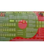 How To Play Gitarre Poster (E6) - $8.57