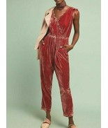 Anthropologie Great Velvet Jumpsuit by Birds of Paradis by Trovata $299 ... - $139.99