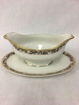 Vintage Haviland Limoges France China Gravy Boat With Underplate GOA CHFIELD - $34.64