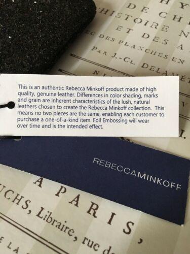 REBECCA MINKOFF BLACK LITTLE LOTTIE COIN/KEY PURSE NWT