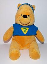 Winnie the Pooh Superhero Plush 14in Disney Stuffed Animal Mask Teddy Bear - $3.99