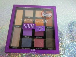 Maybelline New York Soda Pop Eyeshadow Palette #110 SEALED - $12.86