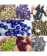 60 pcs Round pearl in oyster for multi-color green blue Purple - $326.90
