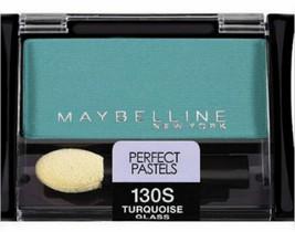 Maybelline Eye Shadow Single Turquoise Glass Expert Wear, green full siz... - $11.99
