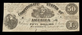 1861 Confédéré Note T-14 En Fin État - $148.48