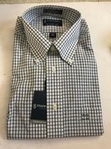 EXPRESS mens Stretch Dress Shirt Classic Fit 16.5 34-35 Ships N 24h - $17.40
