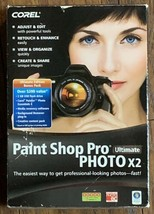 Corel Paint Shop Pro Ultimate Photo X2 Software Windows XP Vista - $39.99