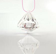 "50Pcs 1.15"" Acrylic Crystal Beads Diamond Drops Wedding Decorations Chan... - $10.39"