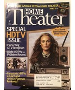 Home Theater Magazine Special HDTV Issue Home Entertainment Reports Sept... - $14.69