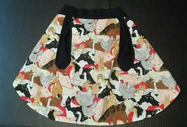 Womens Apron Waist OSFM One Size Fits Most Pockets Farm Animals Country ... - $14.00