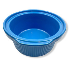 Rival 4 qt Crock Pot Slow Cooker Stoneware INSERT Blue 3154 - $15.83
