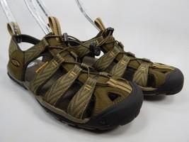 Keen Clearwater CNX Sport Sandals Men's Size 9 M EU 42 Green / Gray
