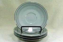 Noritake Ursula Set Of 4 Saucers #6684 - $10.39