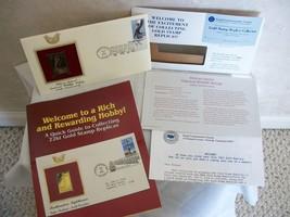 Replica/First Day 22kt Gold Stamp Pelican Island Nat'l Wildlife Refuge ... - $12.99