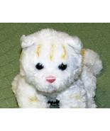 "Gund BOOTSIE CAT 10"" Plush Stuffed Kitty Kitten WHITE Striped Soft TABBY... - $24.75"