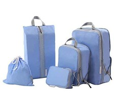 DRAGON SONIC 5 PCS Travel Storage Bag Set Luggage Bag Clothing Storage P... - $32.97