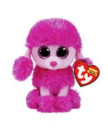 Ty beanie boos stuffed plush animals pink poodle toy doll 6 15cm thumbtall