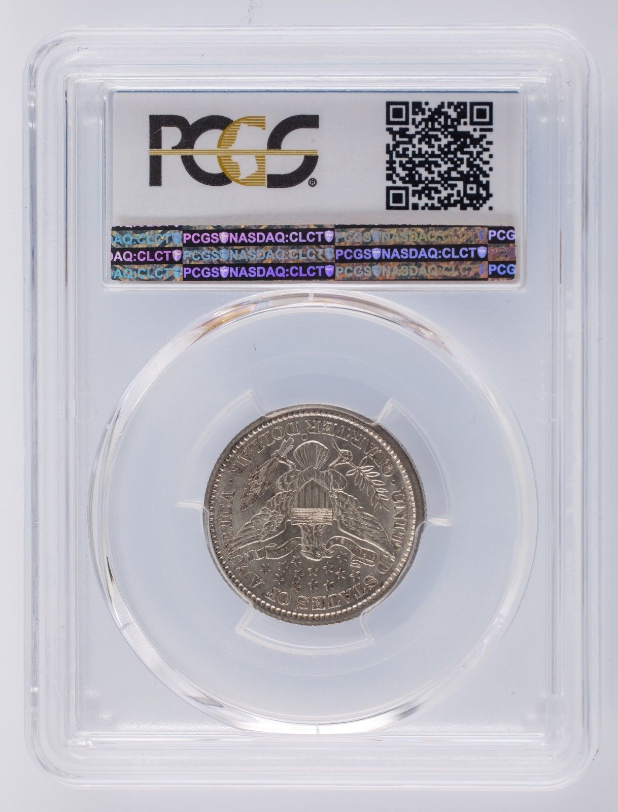 1899-O Barber Quarter 25C Graded by PCGS as AU-58