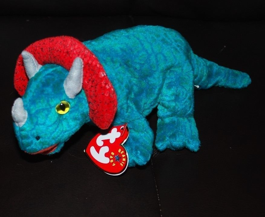 Ty Beanie Baby Hornsly Triceratops Dinosaur and 19 similar items. S l1600 271744342938