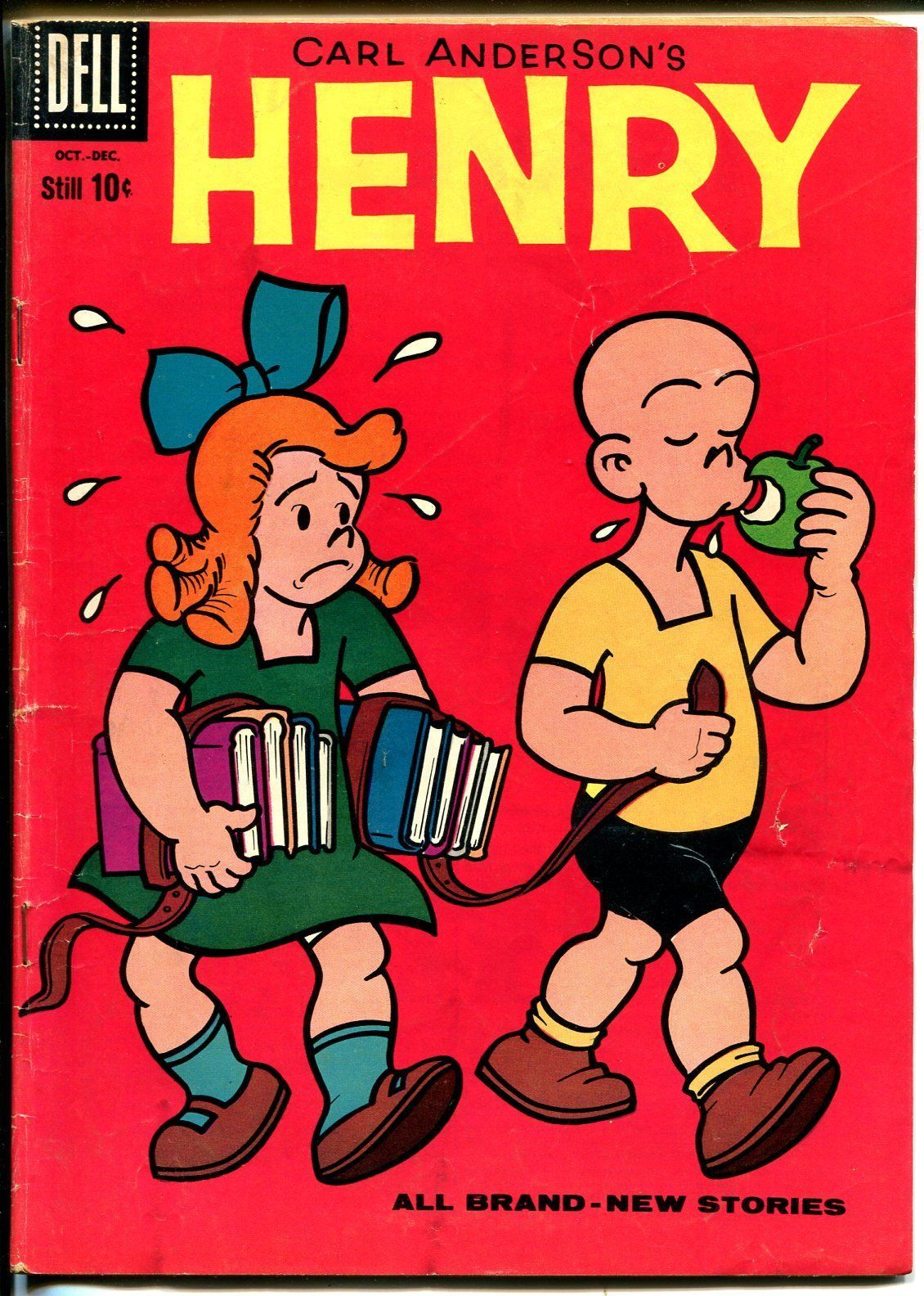 Henry #59 1959-Dell-anti-feminist cover-Carl Anderson-VG
