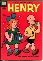 Henry #59 1959-Dell-anti-feminist cover-Carl Anderson-VG image 1