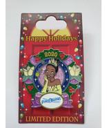 2020 Disney Parks Pin Happy Holidays Port Orleans Resort Tiana LE 3000 Pin - $24.74