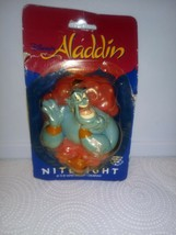 Disney ALADDIN Genie Nitelight Night Light Wall Plug Vintage In Packaging - $9.74