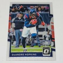 NFL DEANDRE HOPKINS HOUSTON TEXANS 2017 PANINI OPTIC FOOTBALL #25 MNT - $1.07
