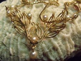 Rare Dek 1/20 12K G F & Pearls Vintage Jewelry Set, 6 Pieces, Minty - $84.15