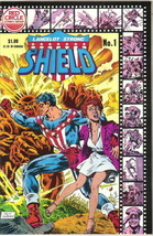 Lancelot Strong The Shield Comic Book #1 Archie 1983 Very FINE/NEAR Mint Unread - $3.99