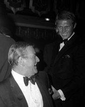 John Wayne Steve Mcqueen Joking Around Candid 1960'S Rare Image 16X20 Ca... - $69.99