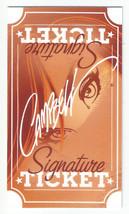 J Scott Campbell Signature Comic Art Ticket - $9.89