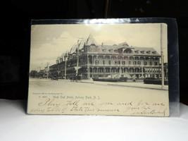 NJ177 West End Hotel Asbury Park NJ UNDB Postcard Posted 1906 EX - $3.32
