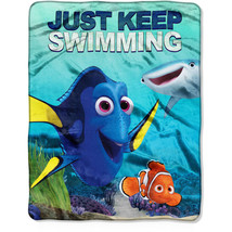 Finding Dory 'Just Keep Swimming' Silky Soft Throw by Northwest - $29.99