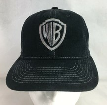 Warner Bros Studio Baseball Cap Hat Black Gray Snapback  - $18.81