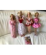 1978 Kissing Barbie, 1983 Loving You Barbie, Valentine Barbie,1994 Mip F... - $59.39