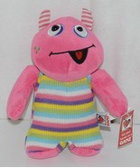 GANZ Brand H12598 Pink Multi color Striped Knit Wit Monster - $9.99