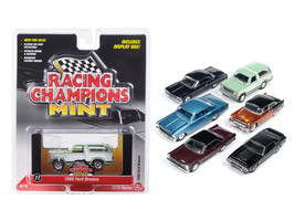 Mint Release 2 Set D Set of 6 cars 1/64 Diecast Model Cars by Racing Champions - $63.82