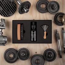 Zilberhaar Beard Oil Kit - Pocket Beard Brush with 1st Cut Boar Bristles Ideal f image 4