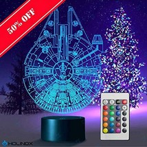 Millennium Falcon Star Wars Lighting Gadget Lamp Decor Awesome Gift - $28.12