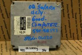 2000 Toyota Camry Engine Control Unit ECU 8966606020 Module 316-11b5 - $10.99
