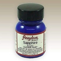 Angelus Acrylic Paints 1 Oz Color - Sapphire - $6.35