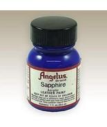 Angelus Acrylic Paints 1 Oz Color - Sapphire - $6.35