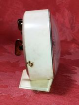 INGRAHAM  ALARM  CLOCK  WIND UP FOR PARTS ONLY GREAT LOOKING DIAL AND CASE image 4