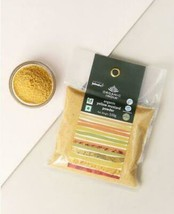 Fabindia Lot of 3 Spice Yellow Mustard Powder packs 300 gm aromatic Indian spice - $15.59