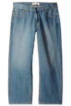 Levi's Boys' 550 Relaxed Fit Jeans 8 Reg 24X22 - $24.74