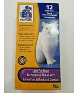 Petmate Litter Pan Liners Large 12 pack - $5.43