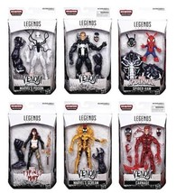 Marvel Legends Venom Monster BAF Wave 1 Full Set of 6 all Figures Mint i... - $159.98