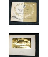Lionel Barrymore collector's folio Gold Etch prints 50s - $14.99